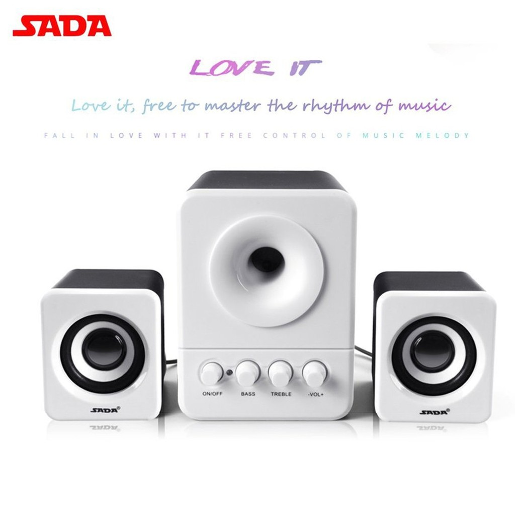 A ^ 203 Speaker Kombinasi Mini Portabel Untuk Laptop Desktop Komputer