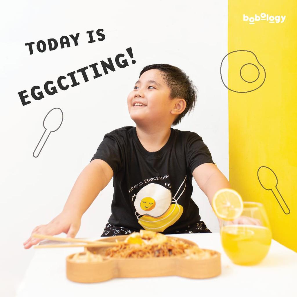 Pyjamas Egg (Pyjamas Only) – BOBOLOGY (Piyama PJ Baju Tidur Baju Rumah Kaos Anak)