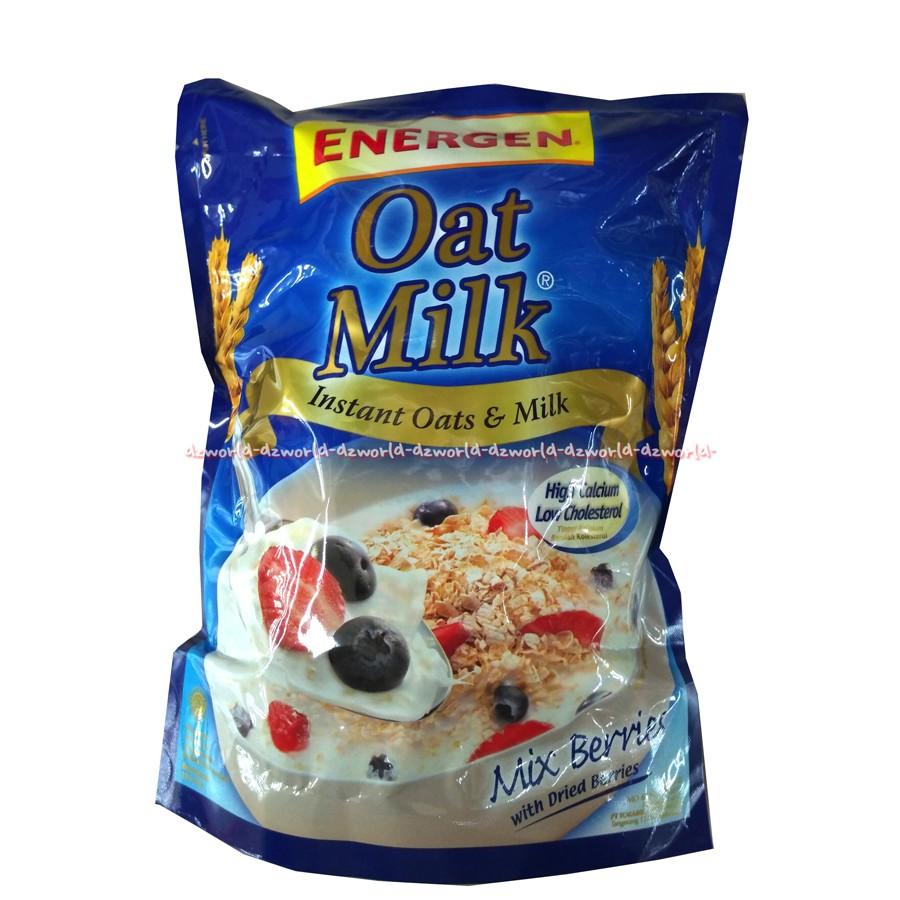 Energen Oatmilk Mix Berry Bag 10 Sachet Berat 24 Gr Shopee Indonesia Nestum Bubur Sereal Multigrain 3in1 Polybag 4 X 32g Susu 2 Pcs