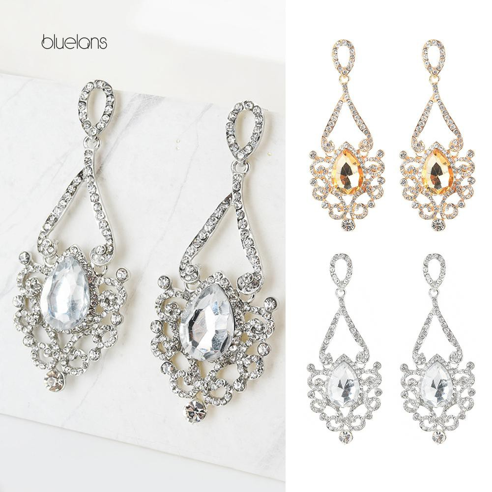 Harga Jual Anting Berlian Fashion Dncat08 White Gold Update 2018 Traditional Stories 180112117 Bluelans Perempuan Asimetris Imitasi Giwang Mutiara Keemasan Promo Belanja Luxuryearrings