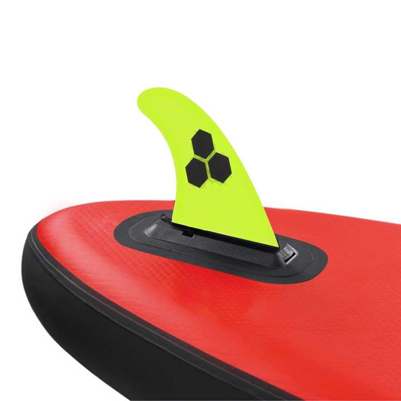 3 Pcs Surfboard Fins Thruster Netted Fibreglass G5 Size FCS Base Surf Thrusters Good Accessory for Kayaks Canoes Rowing Boats