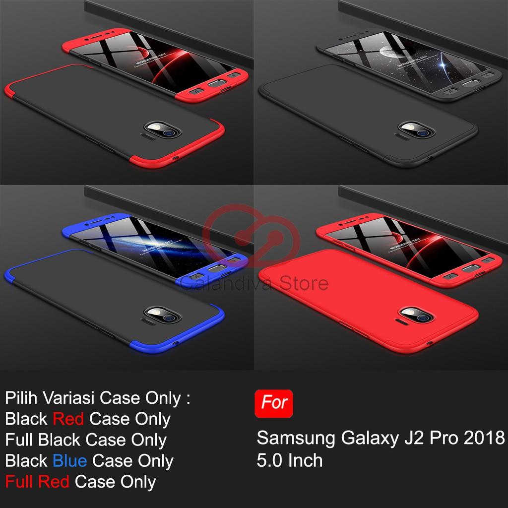 Calandiva Hard Case Samsung Galaxy J2 Pro 2018 Casing Premium Front Back 360 Degree Full Protection Shopee Indonesia