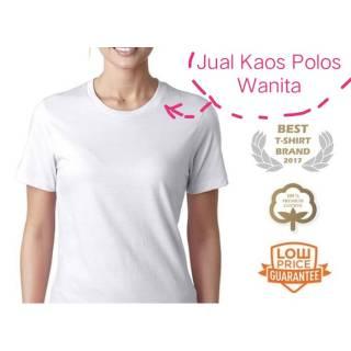 Kaos Polos Lengan Pendek Wanita / T-shirt Ladies Catton Katun Baju Oblong Cewek | Shopee Indonesia