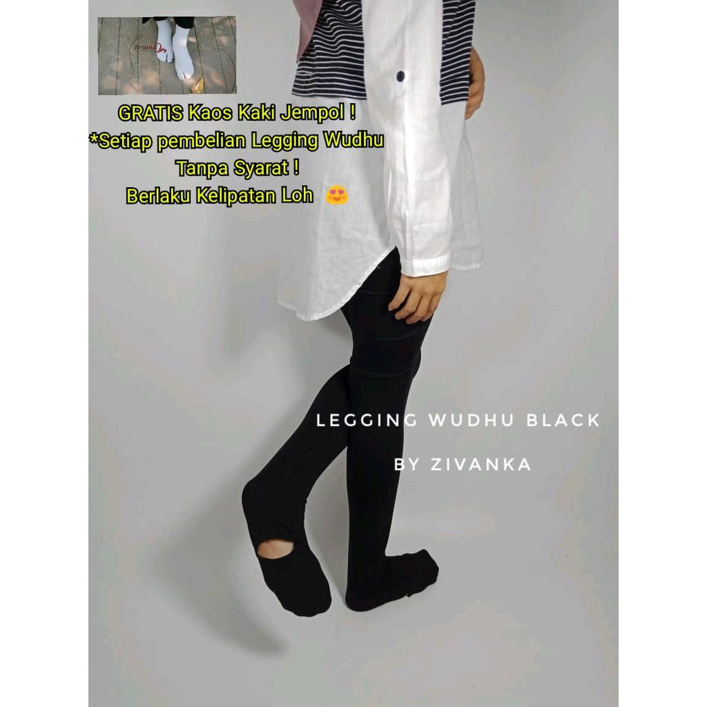 Celana Legging Wudhu S Wanita Hijab Muslimah Premium Untuk Haji Dan Daleman Gamis Shopee Indonesia