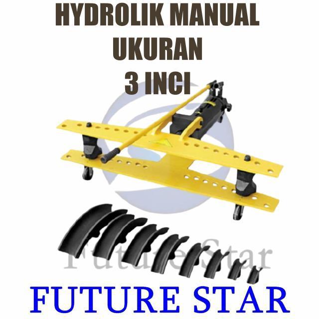Mach | Mesin Bending Pipa Manual/Mesin Pembengkok Pipa Hidrolik Manual 3 Inch