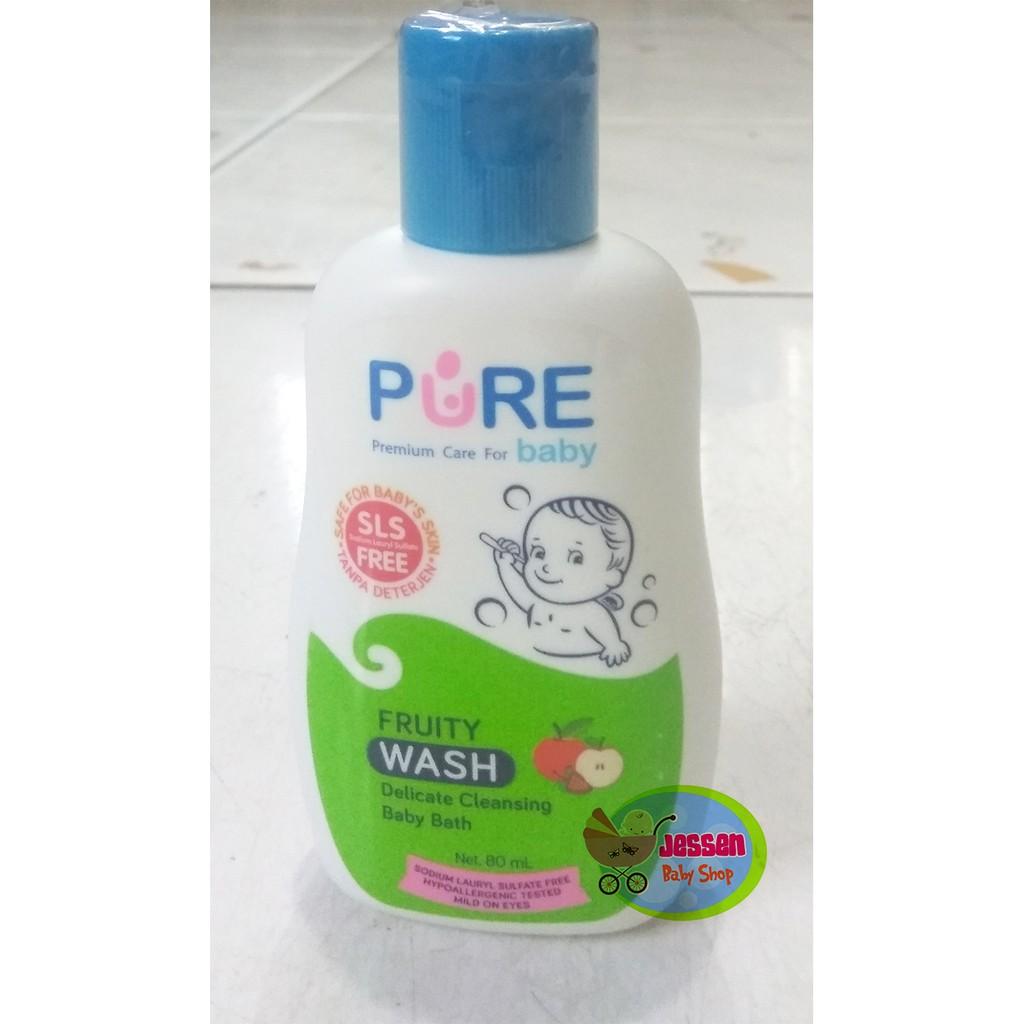 Jessenbabyshop Pure Baby Liquid Soap Sensitive Skin Sabun Mandi Buy 4 Get 1 Free Caladine Barsoap 85gr Cair 230ml New Shopee Indonesia