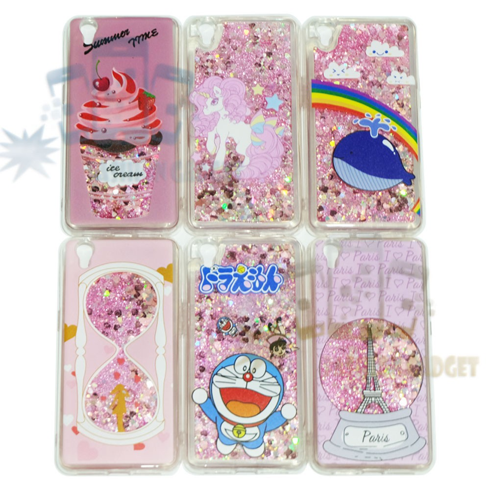 Silikon Casing Oppo A37 Neo 9 Case Water Glitter Gambar Lucu Silicone Oppo A37 Case Oppo
