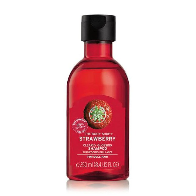 The Body Shop Strawberry Clearly Glossing Shampoo 250ml-4