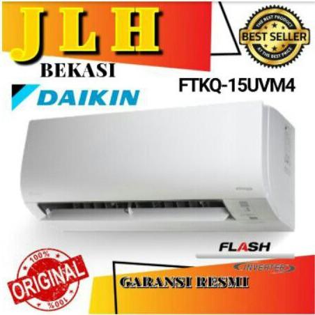 AC DAIKIN 1/2pk FTKQ 15 FlASH INVERTER 1/2pk 0,5 pk unit only