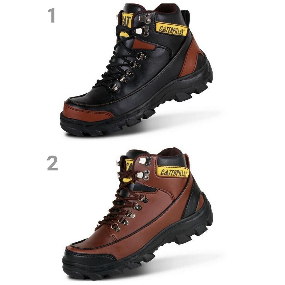 Crocodile Boots Armor Safety Sepatu Pria Outdor Turing Hiking Morrisey Proyek Ujung Besi Gunung Bikers Shopee Indonesia