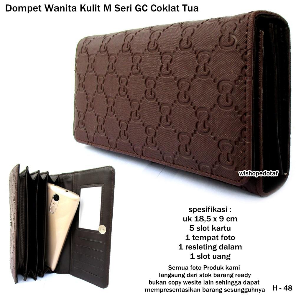 dompet wanita kulit M seri vintage murah  9c50518607