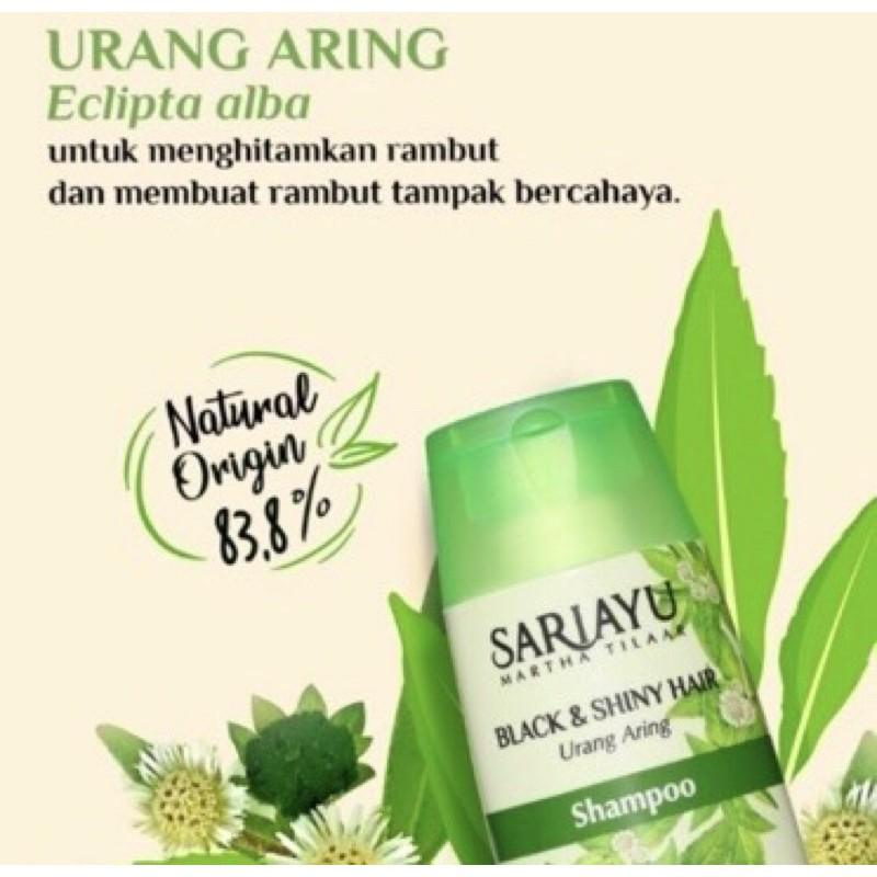SARIAYU Shampoo Lidah Buaya,Wortel,Urang Aring,Merang 170ml-URANG ARING