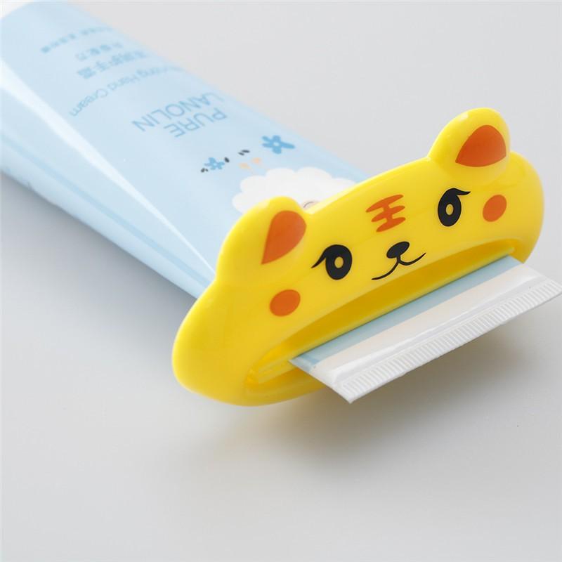 Cute Animal Multifunction Plastic Toothpaste Squeezer Bath Toothbrush Holder fC