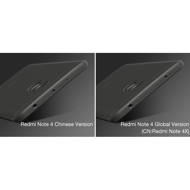 ORIGINAL CAFELE Case Xiaomi Redmi Note 4 / Redmi Note 4X SnapDragon ultra thin casing |