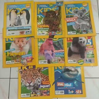 Majalah Anak National Geographic Kids