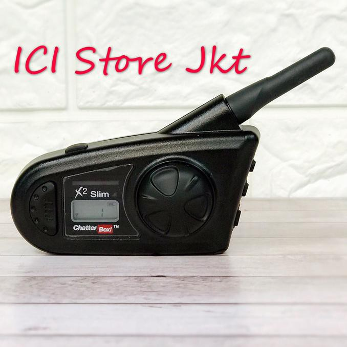 Chatterbox Universal Audio Cord X1 Slim Extended Range Communication Head Sets Black