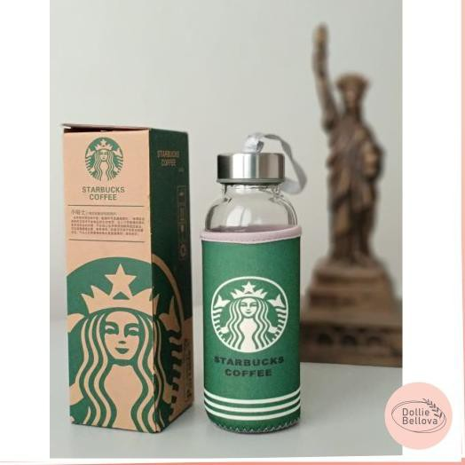 Go Shop Botol Kaca Tumbler Starbucks Starbuck 300ml 373 Shopee Indonesia