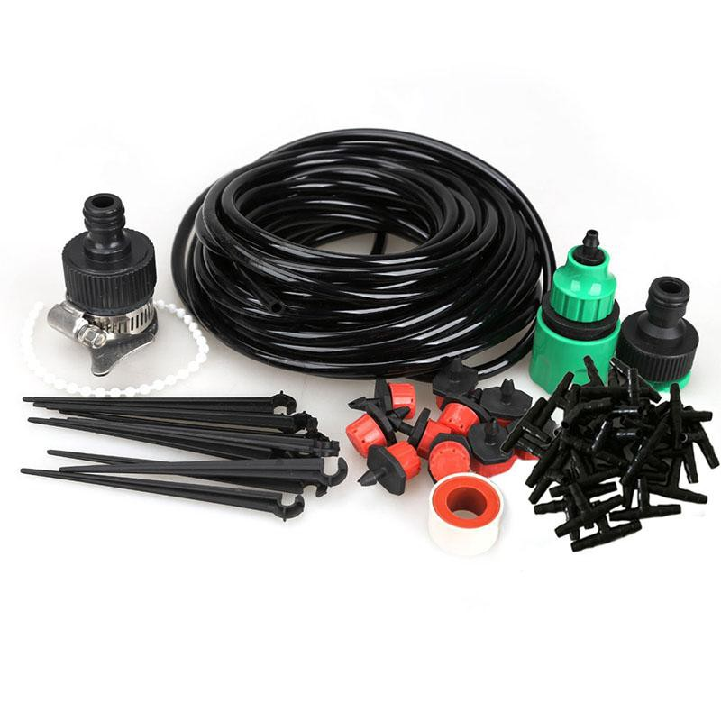DIY Micro Drip Irrigation Kit System Plant Potted Self Watering 10m 15m 25m Hose