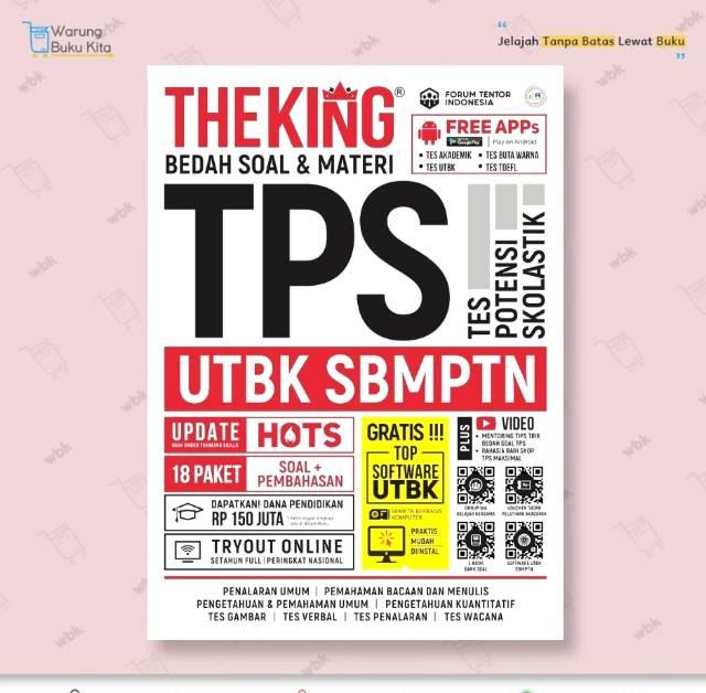 Ready Stok Buku Super Modul Tps Utbk Sbmptn 2021 The King Eduka 100 Original Shopee Indonesia
