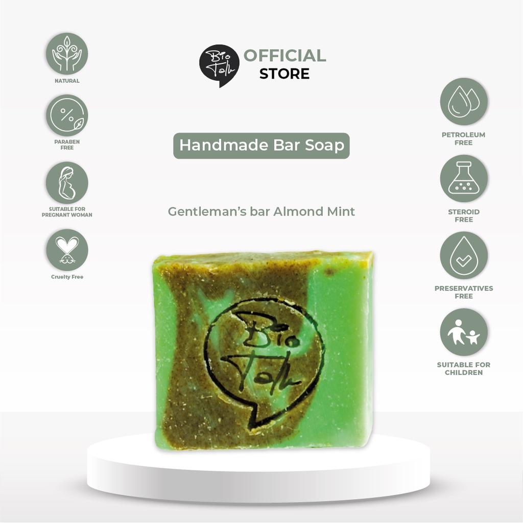 BioTalk Sabun Shampoo Natural Herbal | Gentleman's Bar Shampoo Soap | Kulit Normal |120 gram