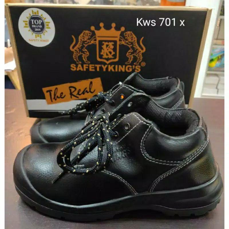 Sepatu Safety Kings Pria 701X Kulit Asli Original
