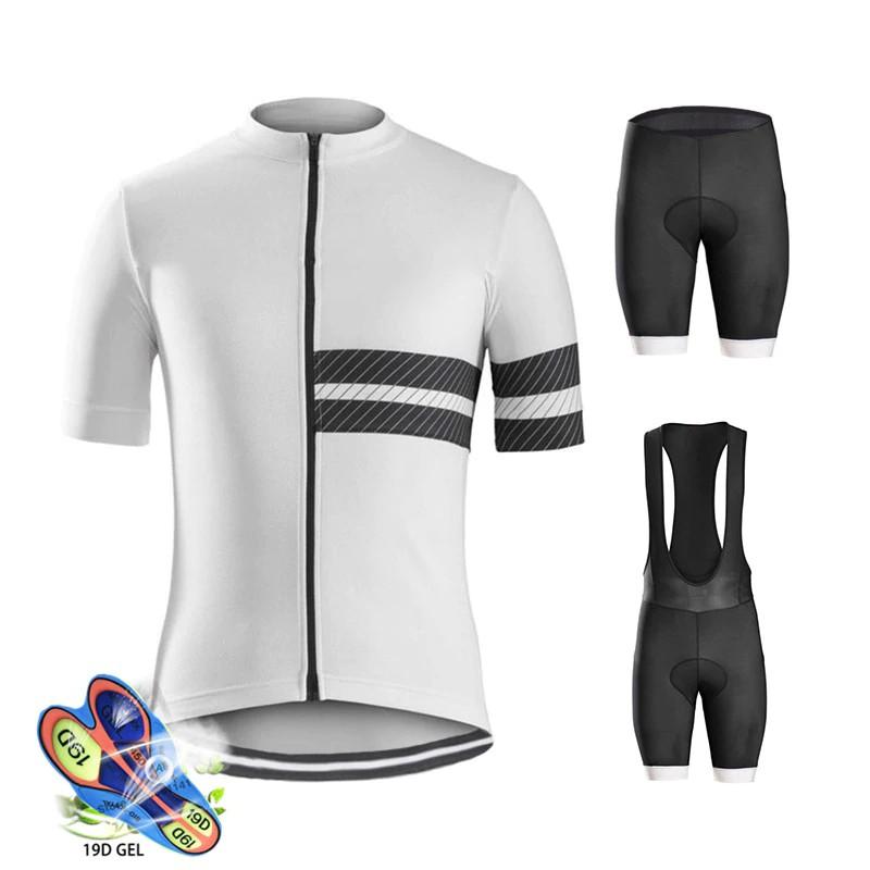 Mens Cycling Jerseys Set Team Bike Shirts and Shorts kits Bicycle
