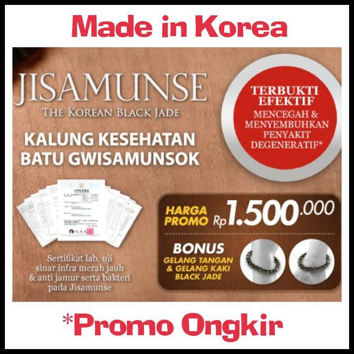 NEW JISAMUNSE KALUNG KESEHATAN JM MEDICAL KOREA (GWISAMUNSOK) PRODUK KESEHATAN TERBARU DAN MURAH   Shopee Indonesia