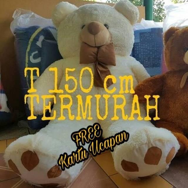 Boneka Teddy Bear Super Jumbo 1.2 meter  cbd4ad299f