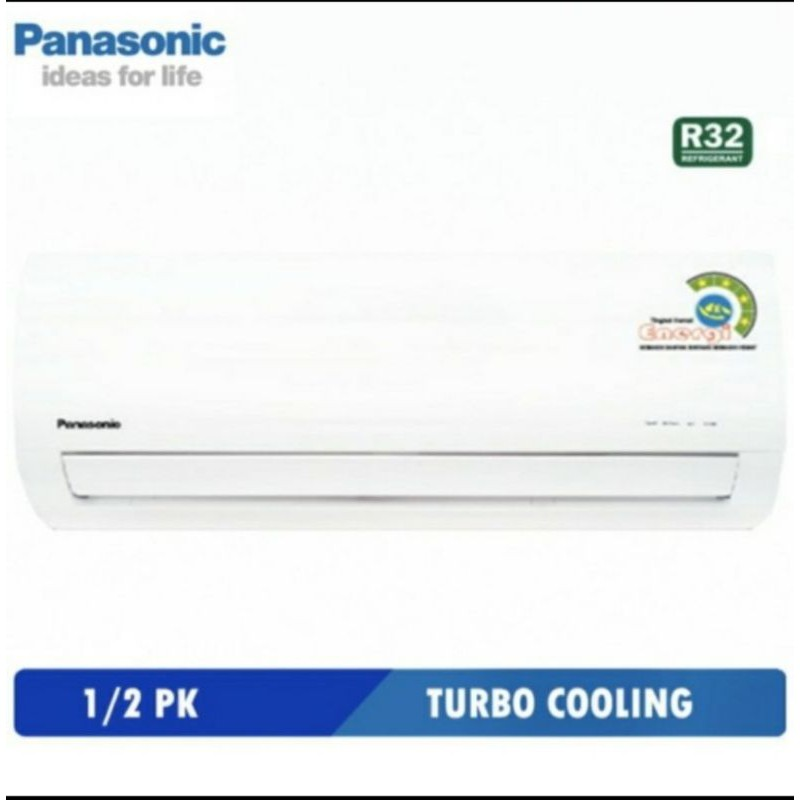 AC Panasonic 1/2pk Low Watt CS-ZN5WKP AC 1/2PK PANASONIC AC MURAH