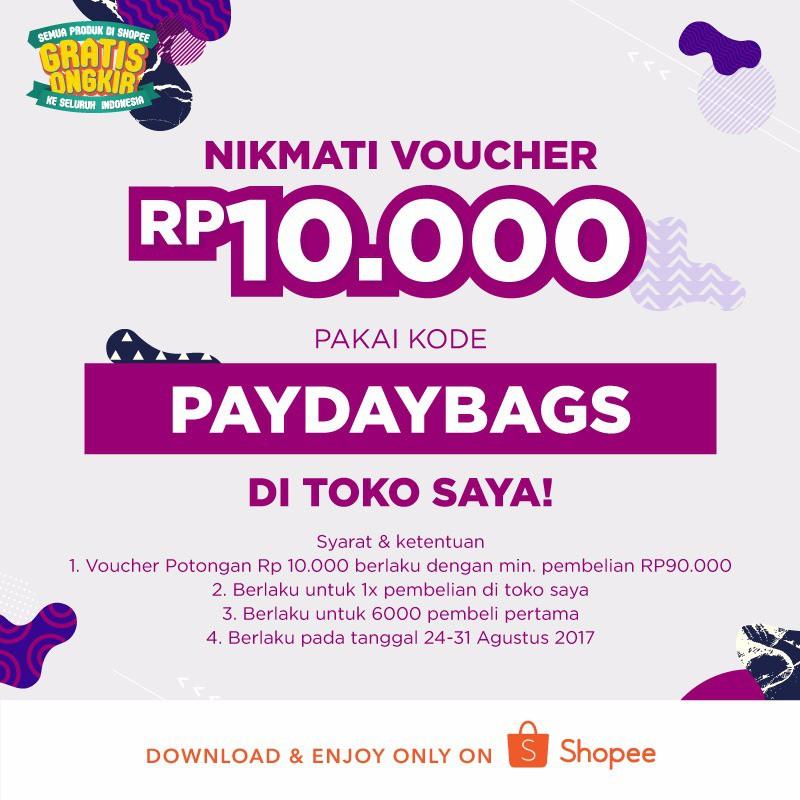 Kode Promo Voucher Diskon 10 000 Gratis Untuk Belanja Disini Shopee Indonesia