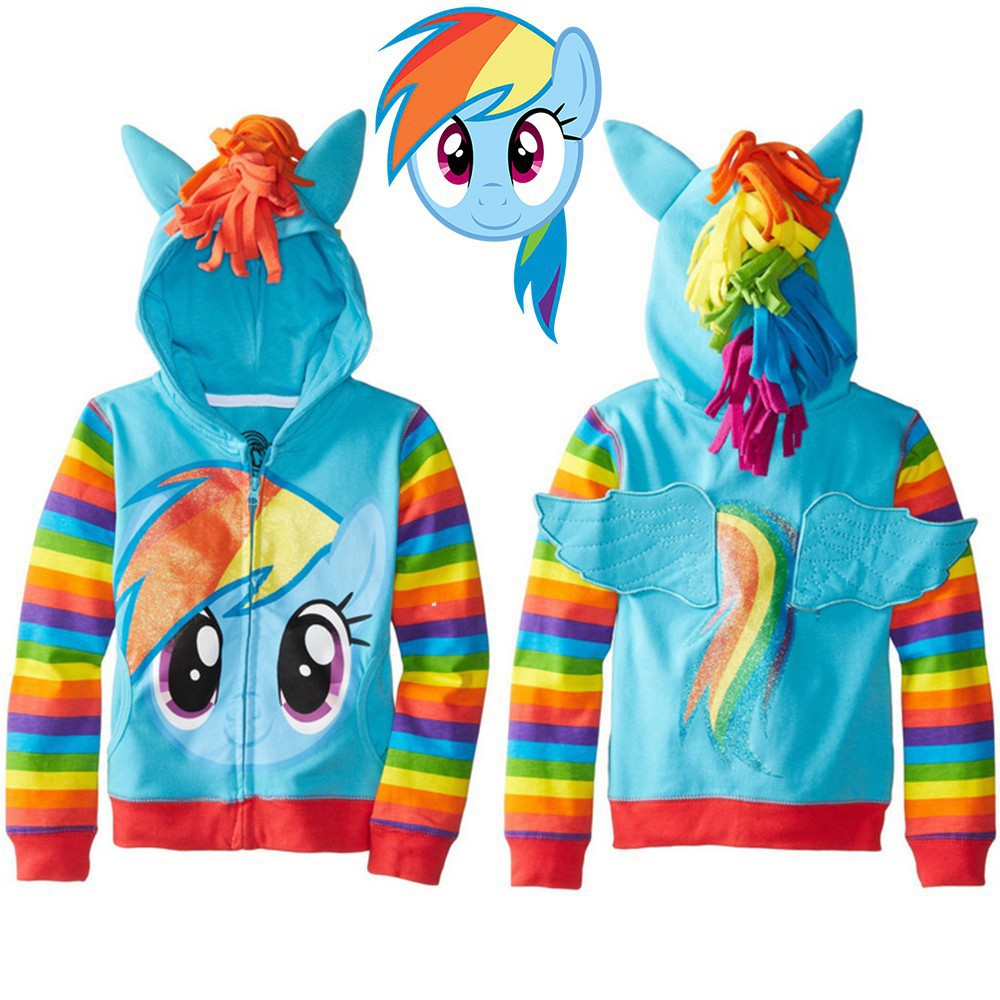Womens Hoodies My Little Pony Unicorn Unique Girl Casual Hooded Athletic Pullover