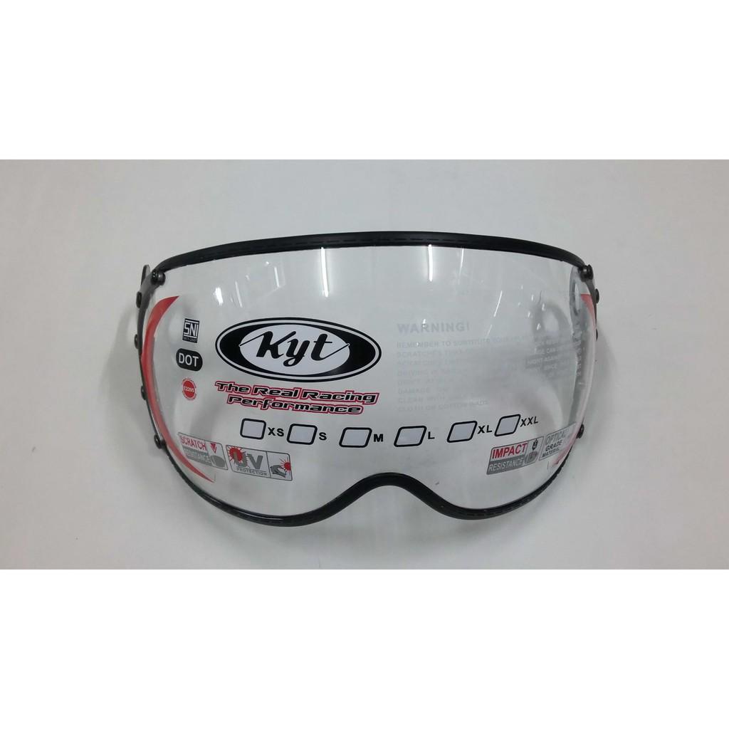 Kaca Helm Ink Centro Kyt Djmaru Warna Silver Merk Clear Shopee Bening Clean Indonesia
