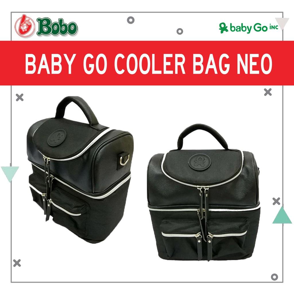Promo Harga Babygo Inc Plum Backpack Black Grey Terbaru 2018 Metro Blue Neo Cooler Bag Brown Gratis Gabag Ice Gel Pack 500gr