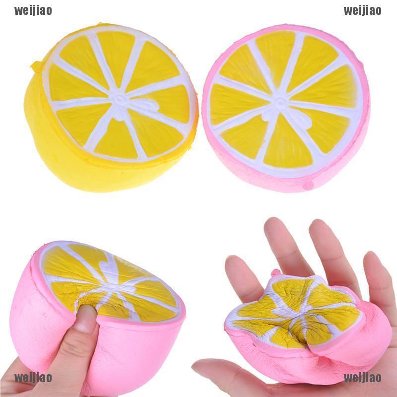 SanQi Elan Squishy Jumbo Lemon 11cm Slow Rising Original Packaging Fruit Collect