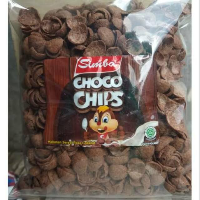 Camilan simba choco chips 500 gram