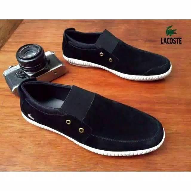 PROMO AKHIR TAHUN Sepatu Slip On Loafers Lamborghini Sneakers Casual Santai  Sekolah Kuliah Original  a34d36f10a