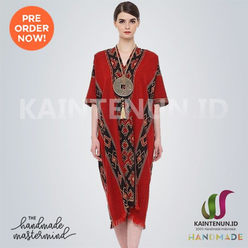 Dress Batik Baju Tenun Troso Jepara Handmade Drs017 Shopee Indonesia
