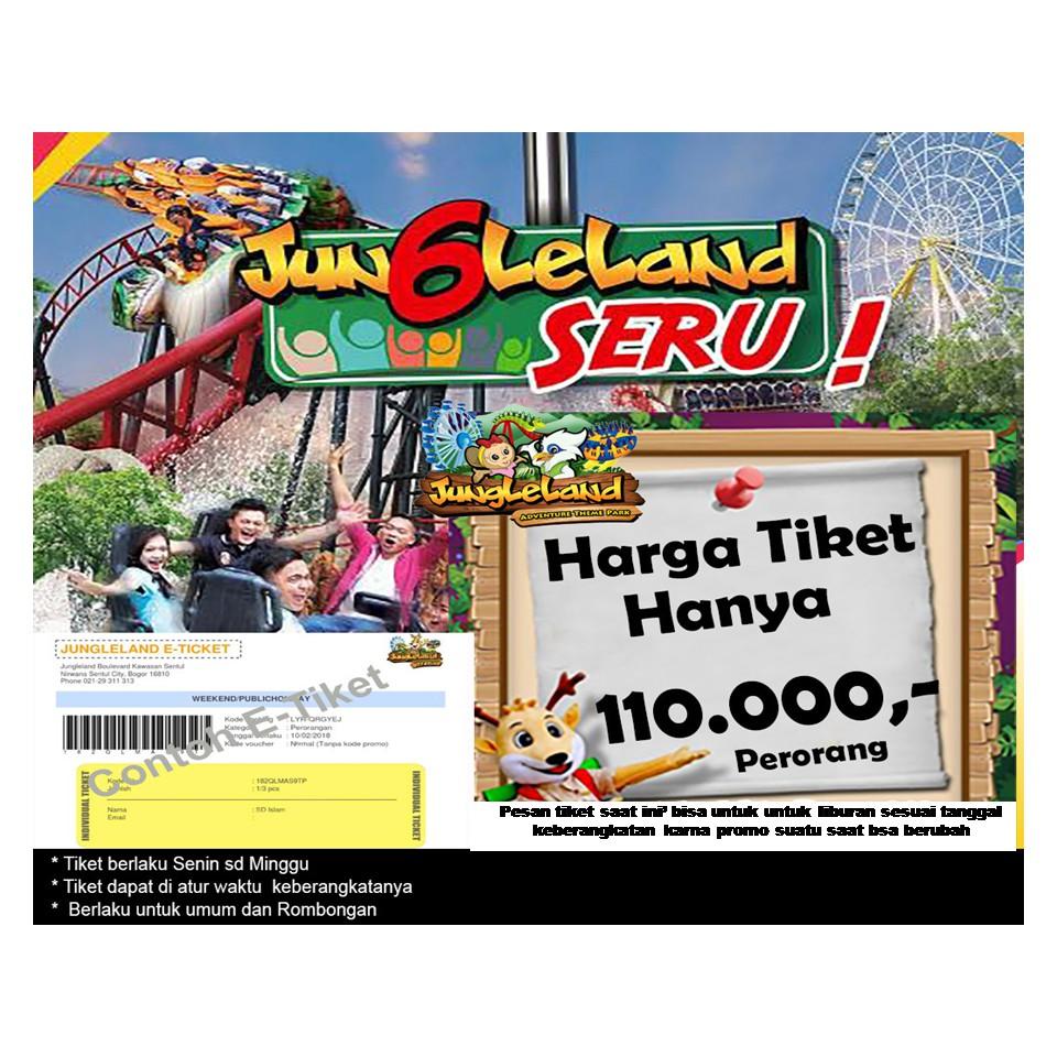 Dapatkan Harga Tiket Jungleland Diskon Shopee Indonesia Sentul