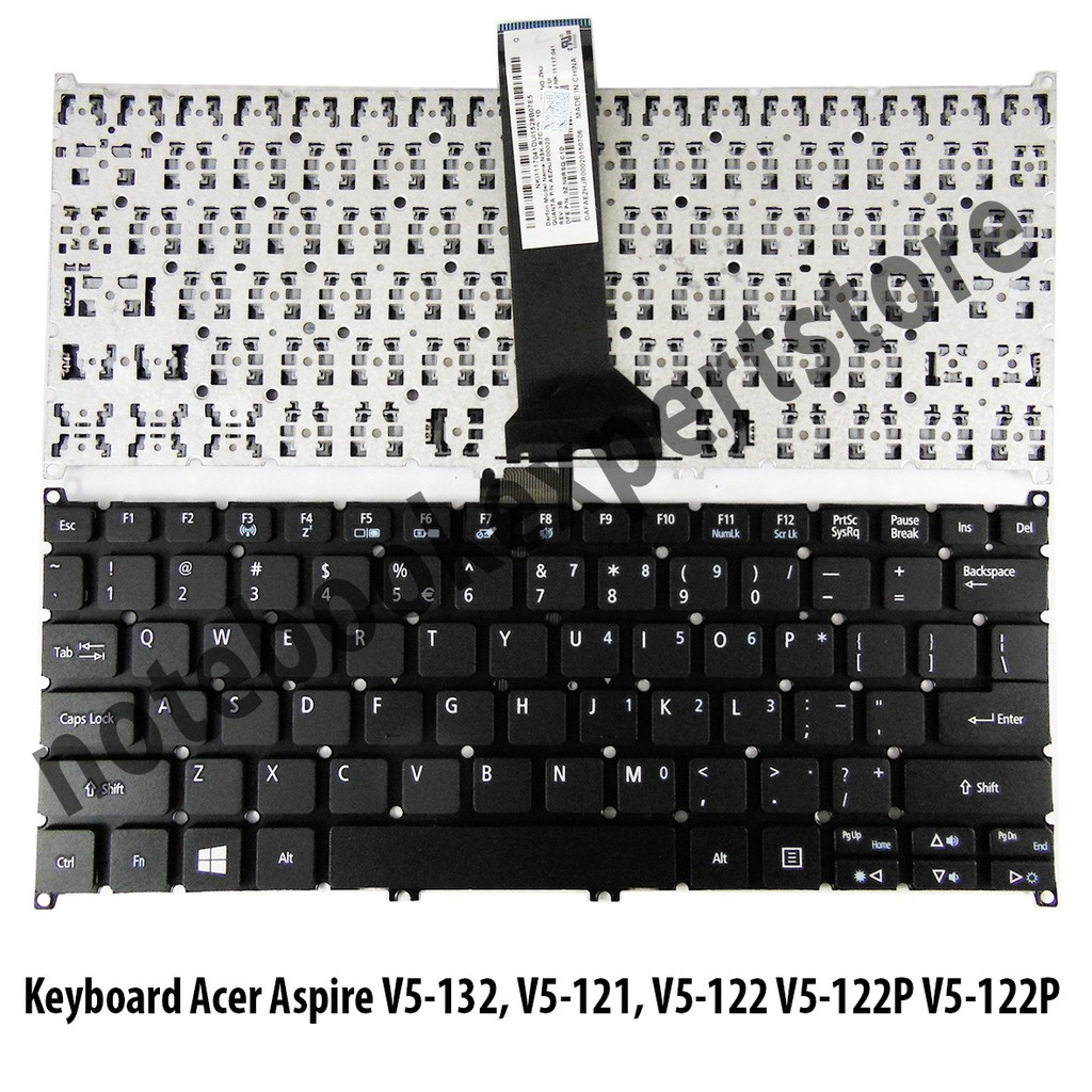 Ready Stock Keyboard Acer Aspire V5 171 121 123 131 Series 431 431g 471 471g M5 481 Hitam Murah 101 Shopee Indonesia