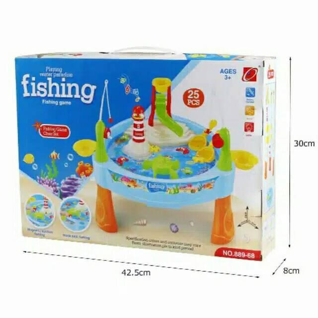 Mainan Anak WATER PARADISE FISHING GAME MAINAN PANCINGAN IKAN ... efc659567a
