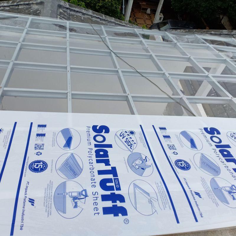 kanopi transparan atap solartuff