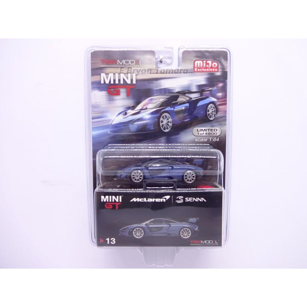mgt00013-l - Victory Grey-Mini GT 1:64 McLAREN SENNA LHD