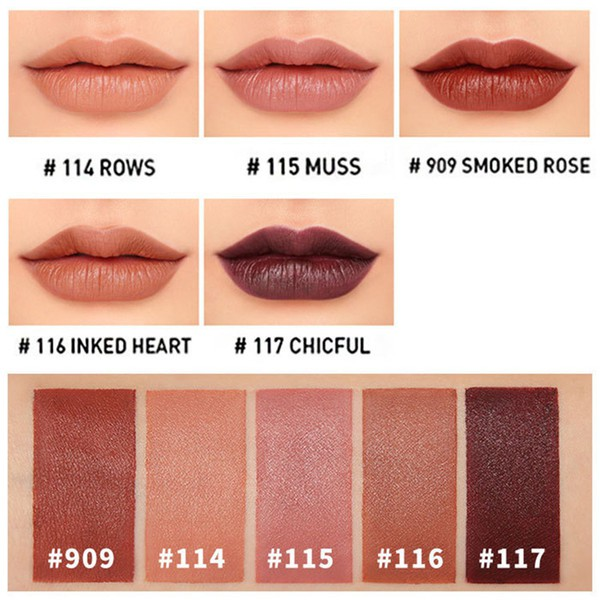 Original 3ce Mood Recipe Matte Lip Colour Matt Lipstick Korean