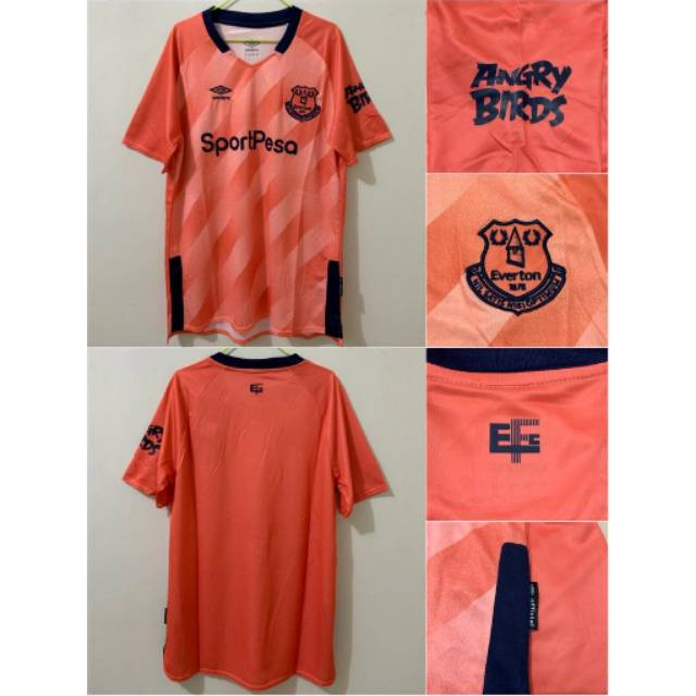 Jersey Everton Away 19 20 2019 2020 Grade Ori Shopee Indonesia