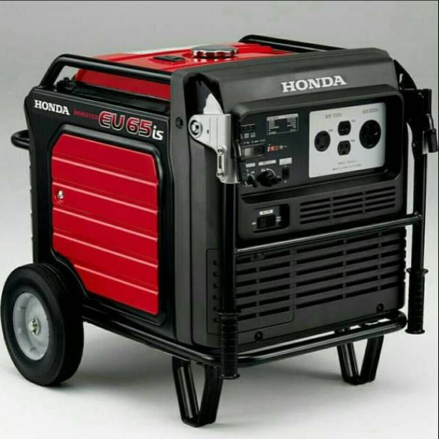 Genset HONDA EU 65 is Generator Set Honda EU65is Genset Inverter Honda