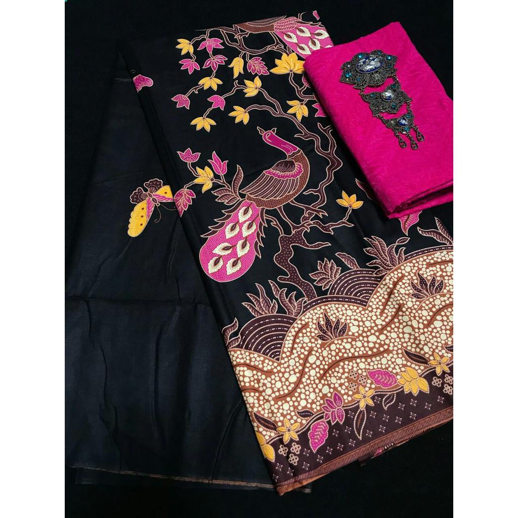 Kain Batik Dan Embos 556 Shopee Indonesia Printing Set 9