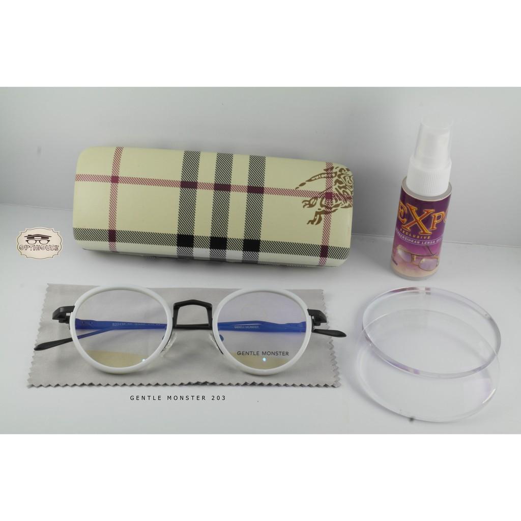 Frame kacamata minus G.Monster S22139 Putih-hitam db5da052ab