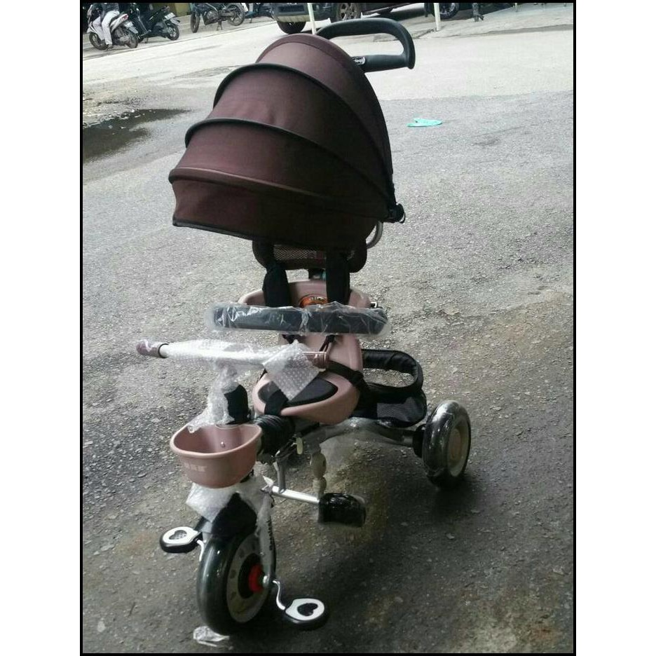 Diskon Sepeda Stroller Lipat Anak Roda Tiga Pusat Distributor Baby Strollers Pliko Milano Praktis Canopy Stoller Murah Shopee Indonesia