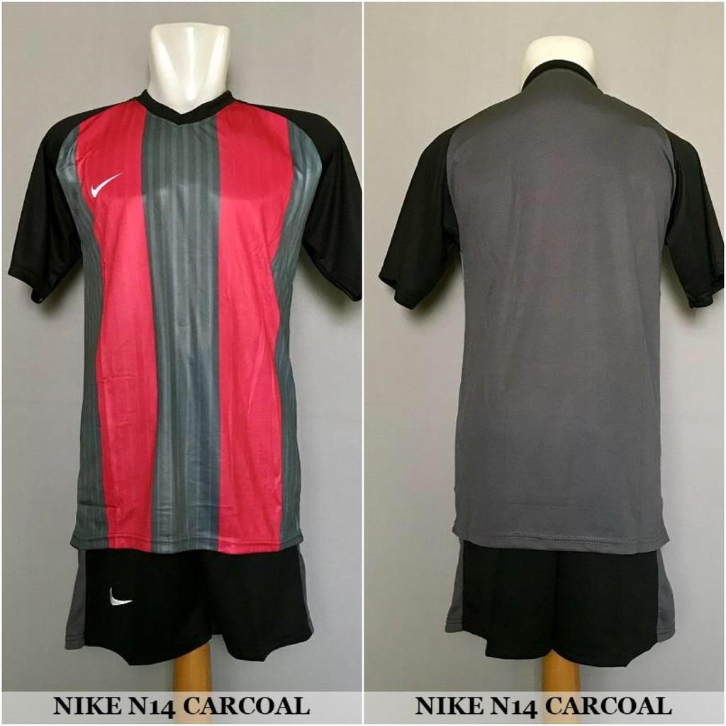 Termurah Nike Nk27 Red Baju Kaos Celana Olahraga Jersey Bola Setelan Futsal Sepakbola Shopee Indonesia