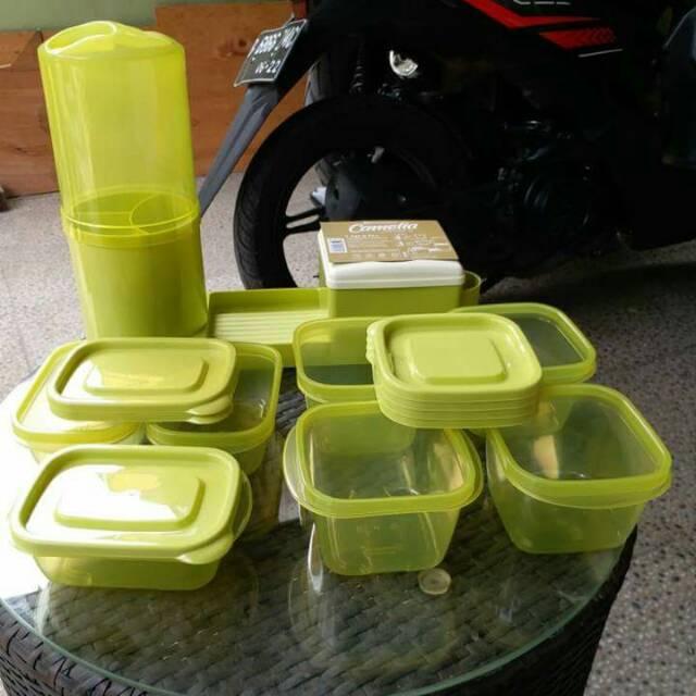 Tempat sendok garpu lengkap 7 toples serba guna camelia cutlery | Shopee Indonesia